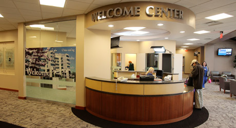 UTMC Welcome Center