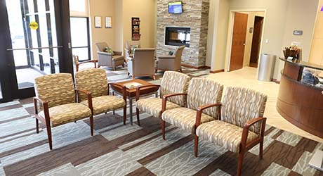 Waiting room Fallen Timbers