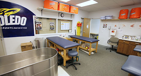 Athletic Sports Medicine room